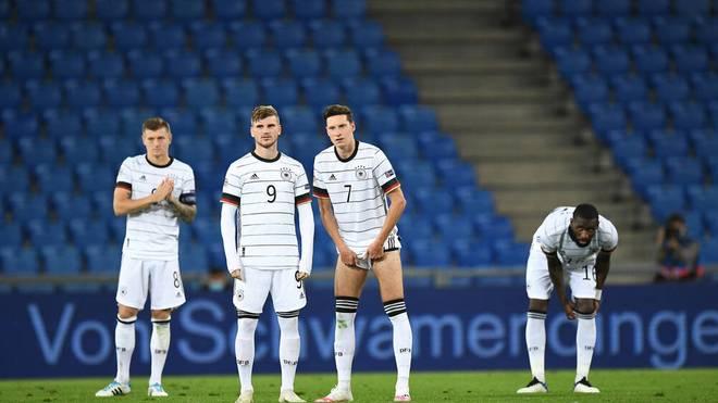 In dieser Form kein EM-Favorit: Die deutsche Nationalmannschaft