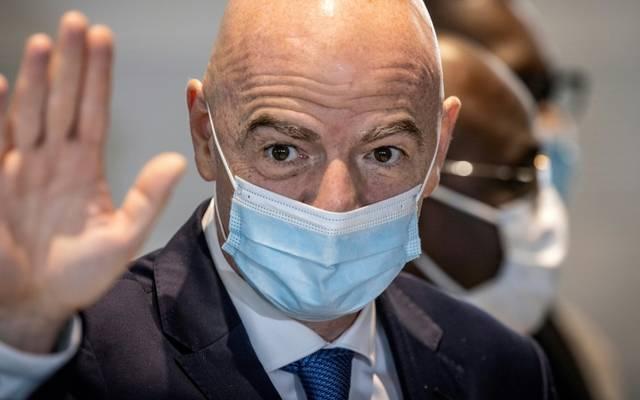 Gianni Infantino ist FIFA-Präsident