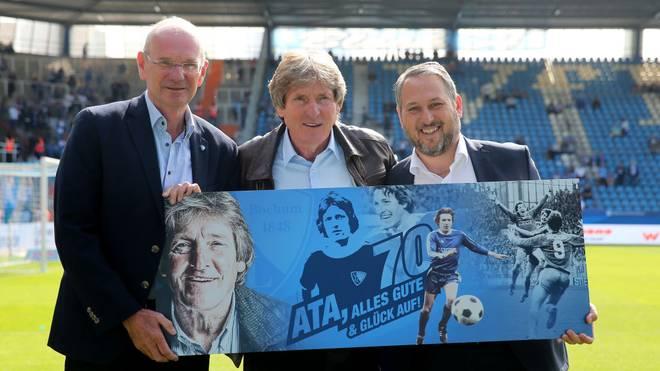 Ilja Kaenzig (r.) ist seit Februar 2018 Geschäftsführer des VfL Bochum