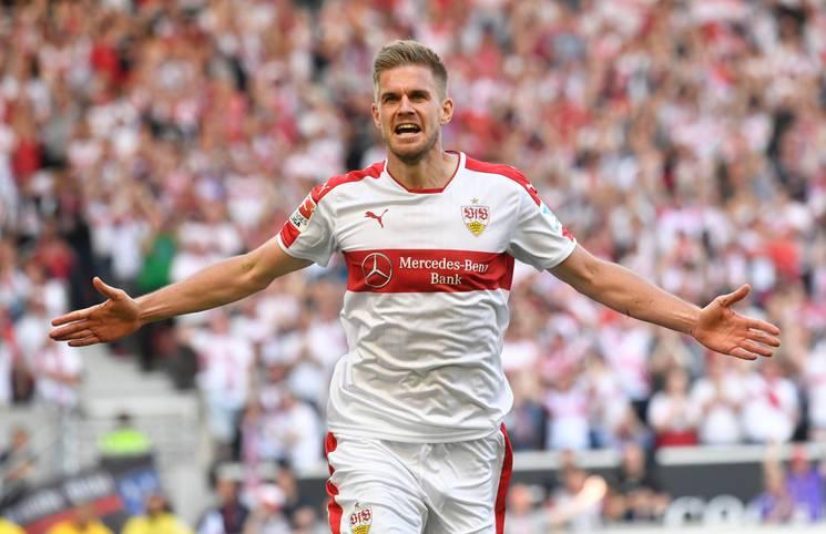 Mit 25 Toren schoss Simon Terodde den VfB Stuttgart in der Saison 2016/17 zum Aufstieg in die Bundesliga. Sein Nachfolger als Top-Goalgetter kommt aus Kiel - obwohl er am letzten Spieltag für die Relegation geschont wird- SPORT1 zeigt die Torjäger der 2. Bundesliga in der Saison 2017/18