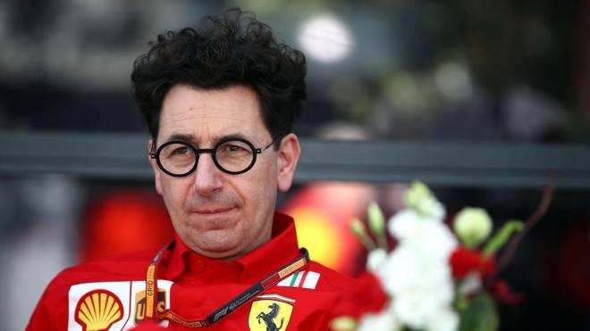 Mattia Binotto ist der Teamchef von Ferrari