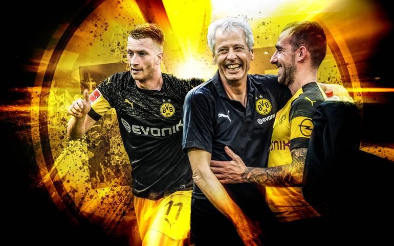 Zwölf Spiele, 30 Punkte, 35 Tore, Tabellenführer der Bundesliga. Dazu das Weiterkommen im DFB-Pokal und Rang eins nach vier Spielen in der Champions League. Borussia Dortmund spielt wie im Rausch - und schraubt an weiteren Rekorden