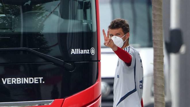 Für Thomas Müller ist der Re-Start der Bundesliga geglückt