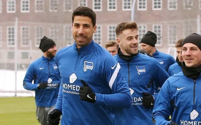 Hertha BSC befindet sich wieder im Mannschaftstraining