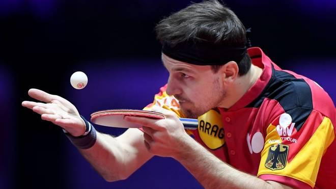 Timo Boll (Bild) steht mit dem Herren-Team im Viertelfinale, auch die Damen stehen unter den letzten acht Teams