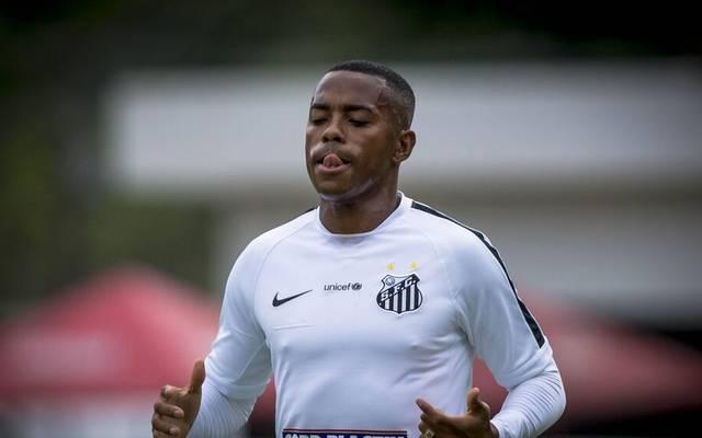 Robinho spielte schon mehrmals für den FC Santos
