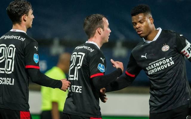 Mario Götze erzielte seinen dritten Treffer für PSV