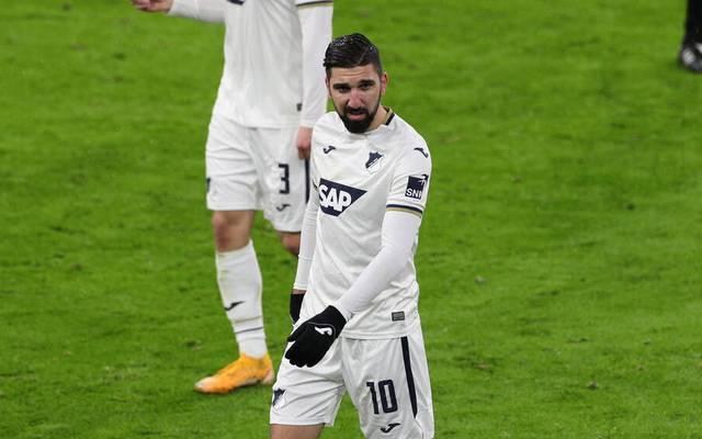 Munas Dabbur erzielte zwei Tore für die TSG Hoffenheim