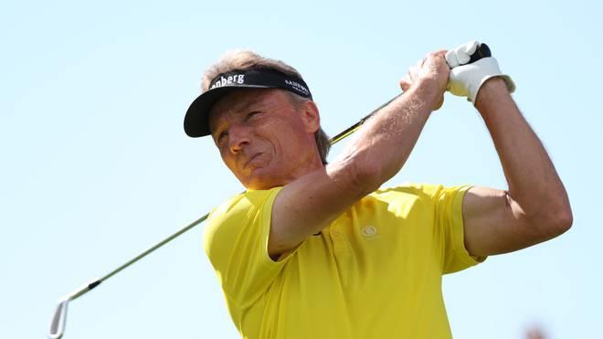 Golf-Legende Bernhard Langer spielt in hohem Sportler-Alter noch einmal groß auf