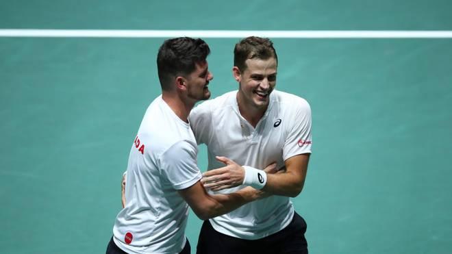 Kanada steht im Viertelfinale des Davis Cups