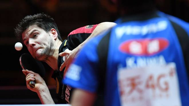 Dimitrij Ovtcharov muss sich im Finale geschlagen geben