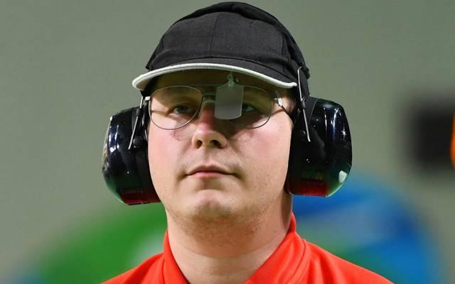 Mit der Schnellfeuerpistole: Reitz sichert sich Olympia-Ticket