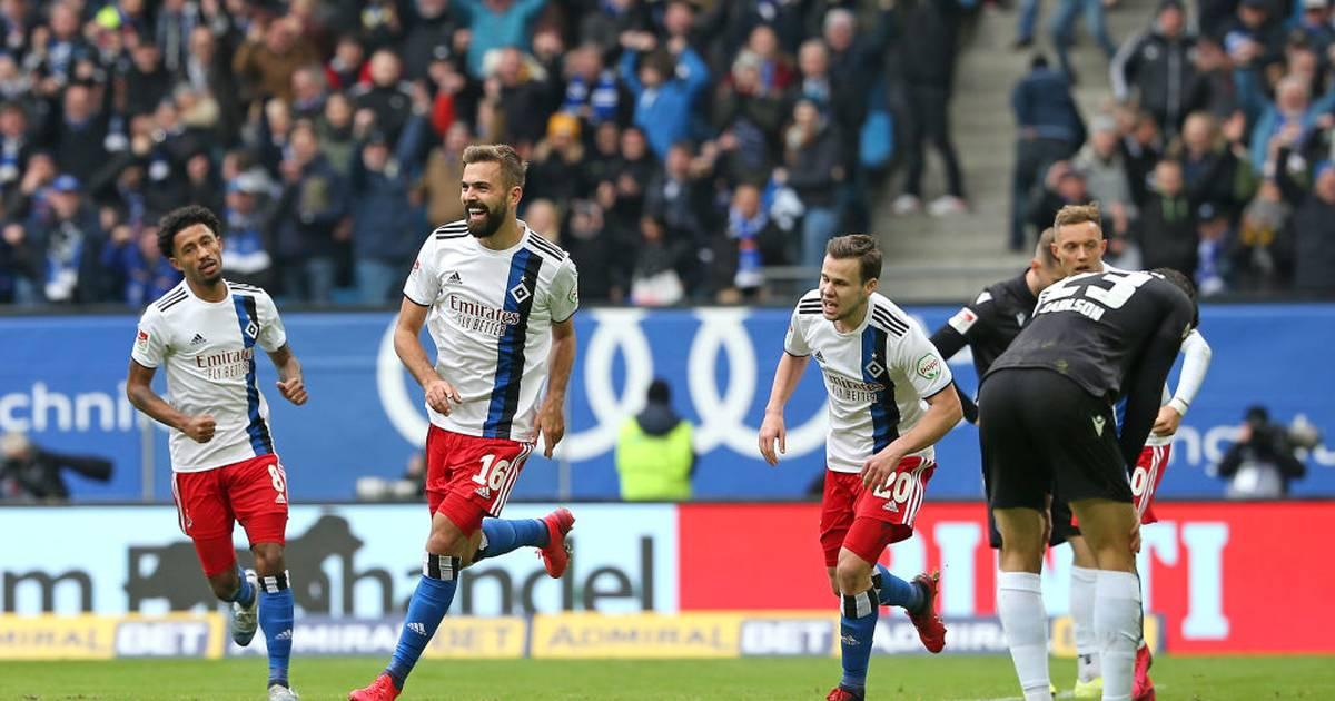 2. Bundesliga: HSV jubelt dank Hinterseer - Nürnberg und Stuttgart siegen