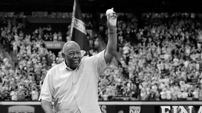 Hank Aaron hielt für 33 Jahre den Homerun-Rekord