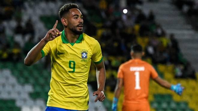 Matheus Cunha erzielte seinen zweiten Treffer im Laufe des Turniers