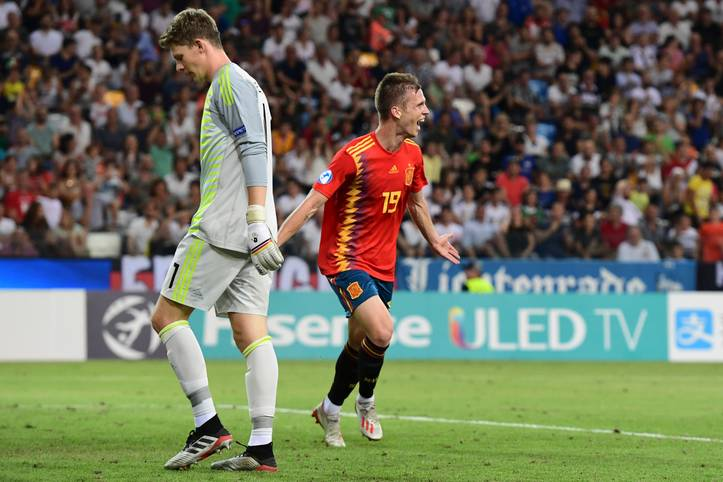 Bittere Finalpleite für die deutsche U21. Im EM-Endspiel gegen Spanien verlor das Team von Stefan Kuntz knapp mi 1:2. SPORT1 bewertet die deutschen Spieler in der Einzelkritik