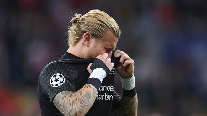 Loris Karius weint nach der Niederlage im Finale der Champions League 2018