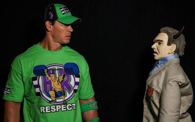 John Cena trifft auf eine teuflische Version von Vince McMahon