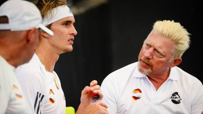 Boris Becker (r.) gewann als 17-Jähriger Wimbledon