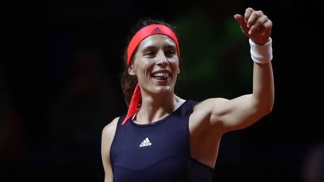 Andrea Petkovic wird parallel zu ihrer Tenniskarriere auch Moderatorin im ZDF
