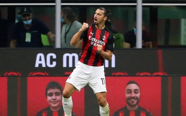 Zlatan Ibrahimovic wechselte aus der MLS zum AC Milan