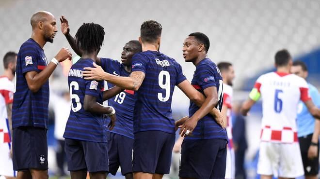 Frankreich gewinnt Neuauflage des WM-Finals von 2018