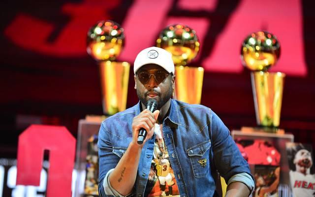 Dwyane Wade holte seine drei NBA-Titel allesamt mit den Miami Heat