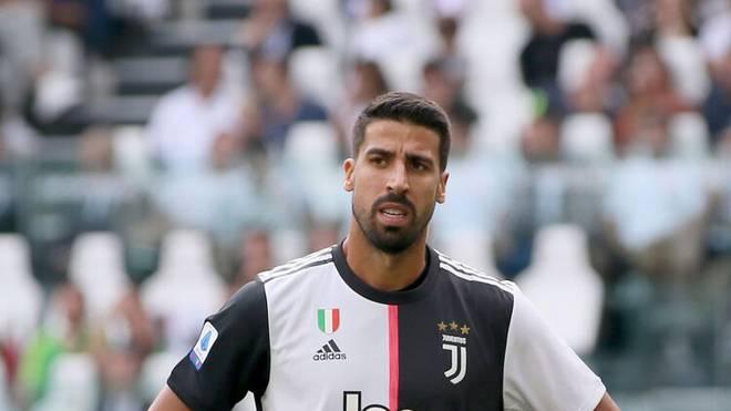 Sami Khedira steht bei Juve vor dem Aus