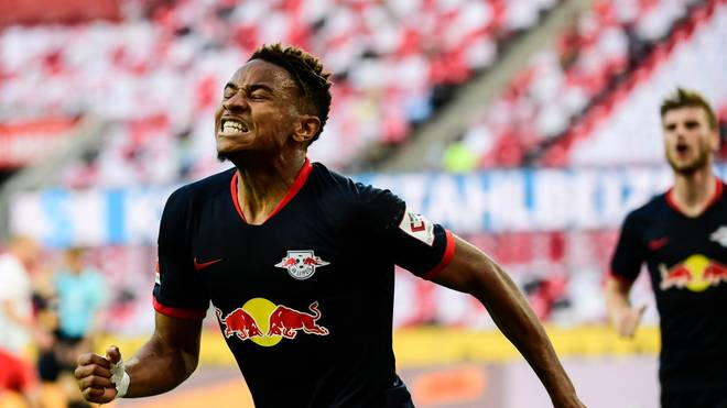 Christopher Nkunku erzielte gegen Köln einen Treffer