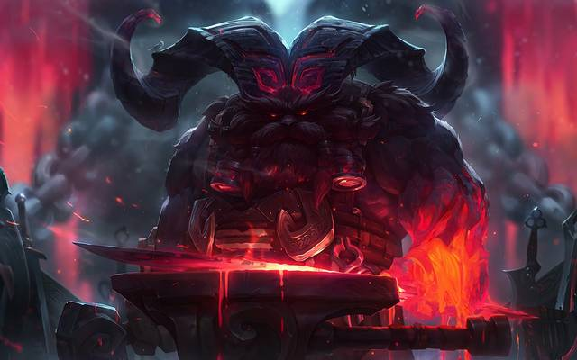 Ornn, der Gott der Vulkanschmiede, war die prominenteste Wahl für die Toplane