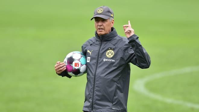 Lucien Favre will den Dortmunder Kader noch breiter gestalten