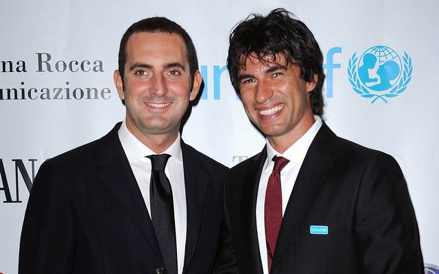 Italiens Sportminister Vincenzo Spadafora (l.) glaubt an eine Fortsetzung der Serie A im Mai
