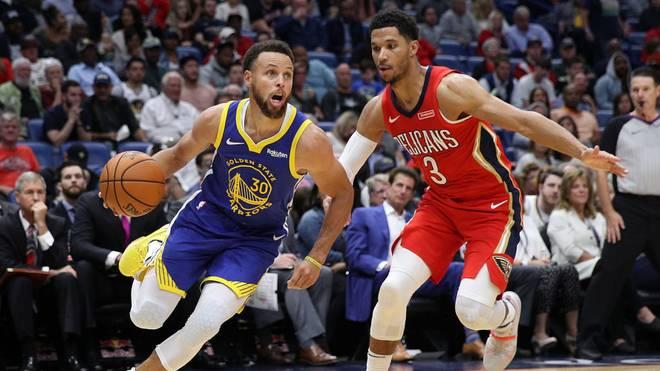 Steph Curry glänzte gegen die New Orleans Pelicans