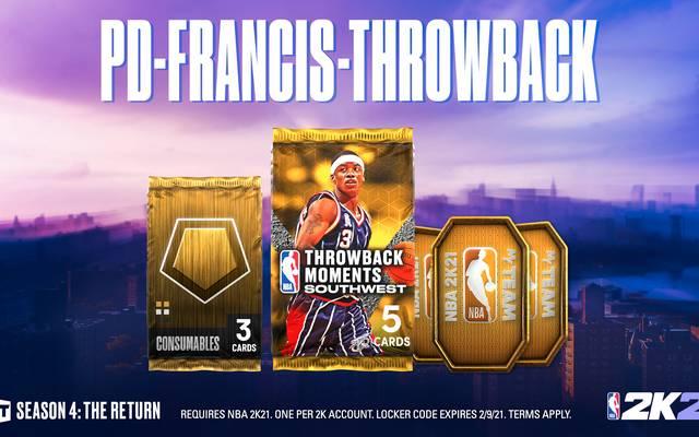 Steve Francis ist der Headliner der neuen Throwback Moments. Aber ist er auch der beste Spieler des Packs?