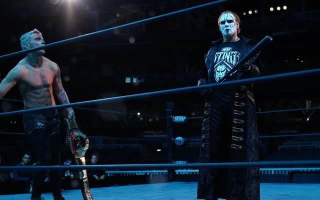 Sting griff bei AEW Dynamite in das Match von Darby Allin ein