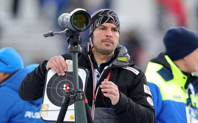 Ricco Gross ist Trainer der österreichischen Biathleten