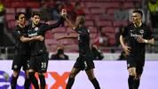 Eintracht Frankfurt muss im Rückspiel gegen Benfica ein 2:4 aufholen