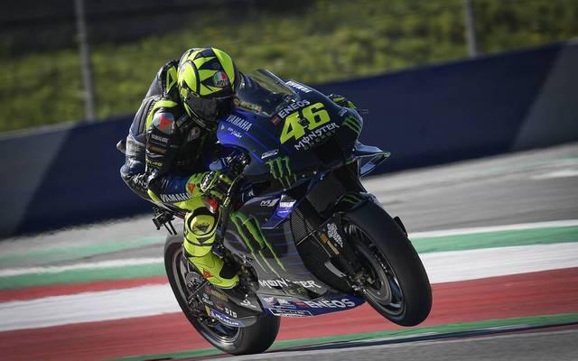 Valentino Rossi denkt noch nicht an das Karriereende
