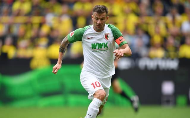 Daniel Baier spielte elf Jahre für den FC Augsburg