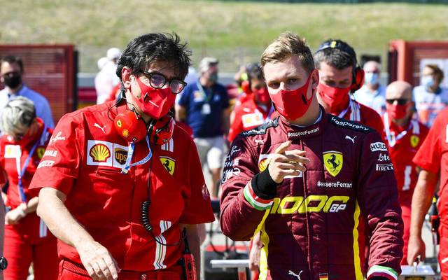 Mick Schumacher gibt sein Trainingsdebüt in der Formel 1 - allerdings in einem Alfa Romeo