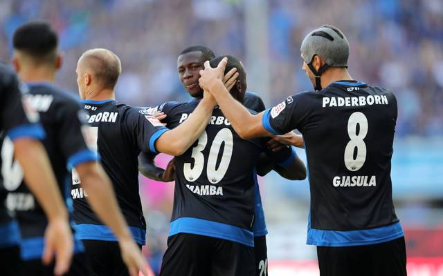 Der SC Paderborn kam gegen die SG Wewelsburg/Ahden aus dem Jubeln gar nicht mehr heraus
