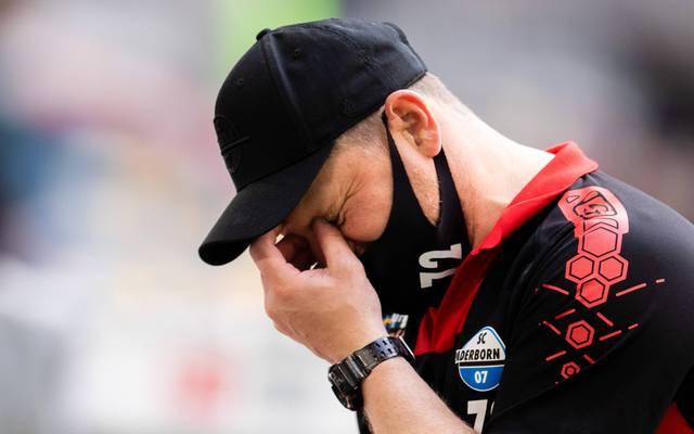 Steffen Baumgart ist seit 2017 Trainer beim SC Paderborn