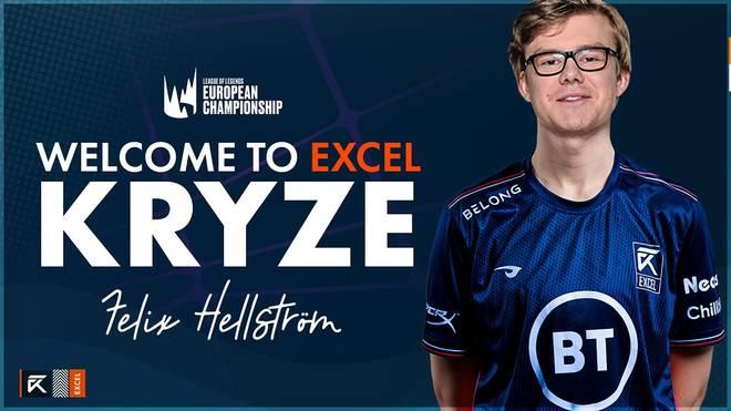 """Felix """"Kryze"""" Hellström schließt sich Excel Esports als LEC-Toplaner an"""