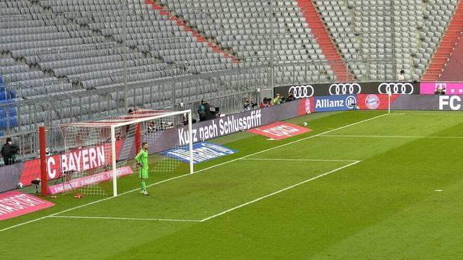 Die Zuschauerränge der Allianz Arena und weiterer Sportstätten werden im November leer bleiben