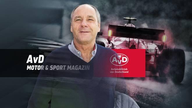 Gerhard Berger wird im AvD Motor & Sport Magazin zugeschaltet