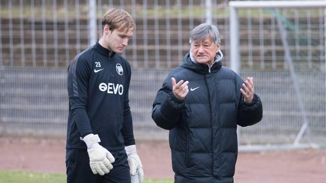 Ramon Berndroth (re.) trainierte unter anderem Jürgen Klopp