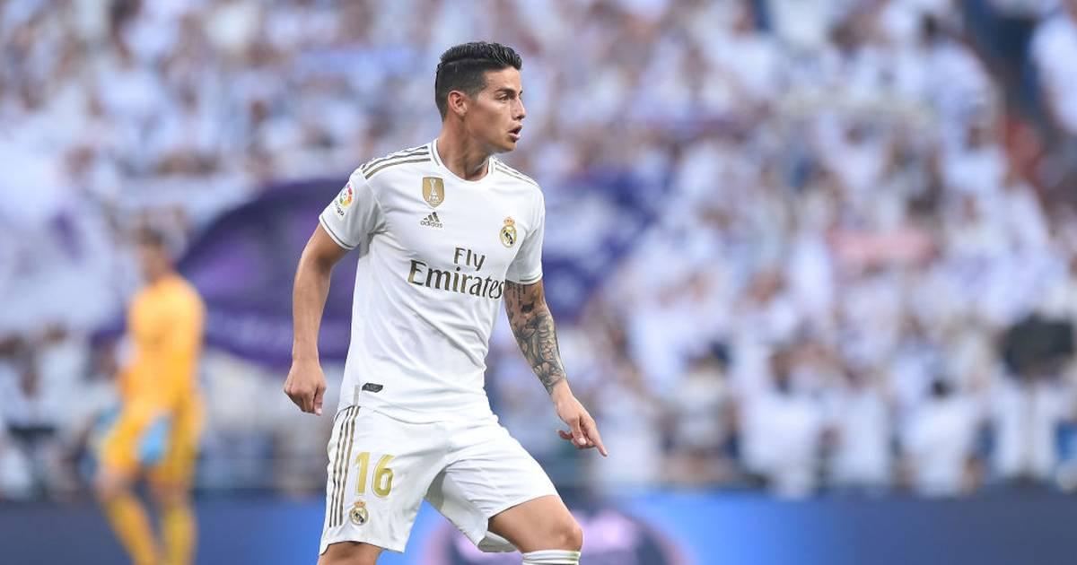 La Liga: James Rodríguez will sich bei Real Madrid und Zidane durchsetzen