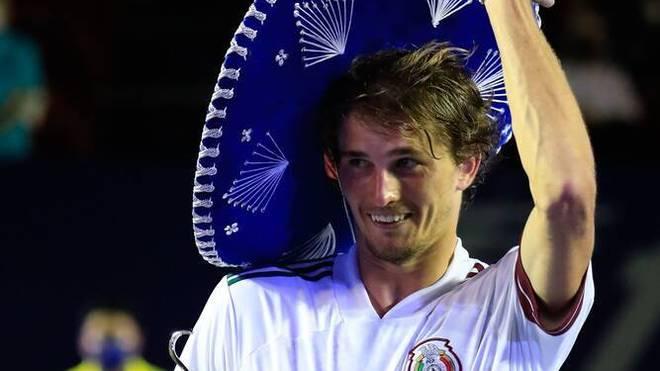 Alexander Zverev hat den Turniersieg in Acapulco errungen