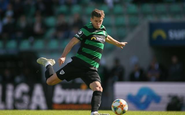 Alexander Rossipal steht mit Preußen Münster trotz des Sieges auf einem Abstiegsplatz