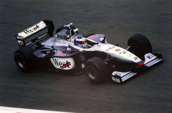 Der McLaren MP4-13 Mercedes aus dem Jahr 1998 von Mika Häkkinen